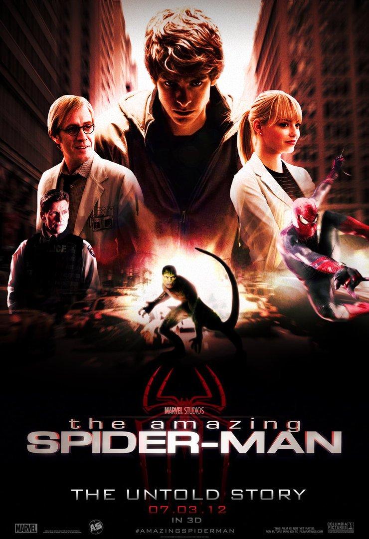 spider amazing spiderman poster posters movie fan andrewss7 review film deviantart personajes todos arana sorprendente hombre pelicula movies affiche burp