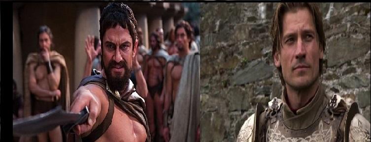 Leonidas vs Jamie Lannister